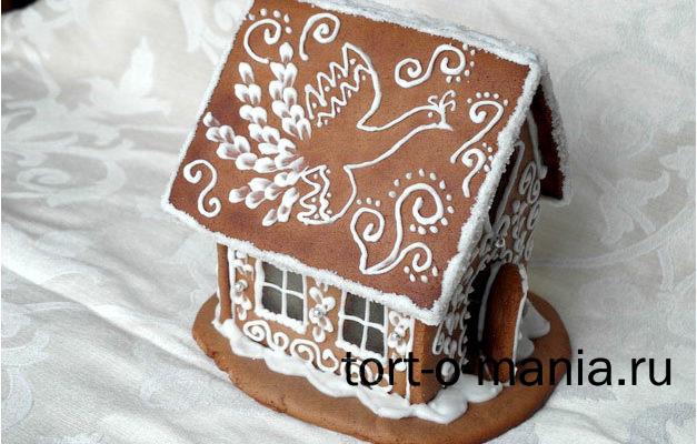 Новогодний праздничный домик