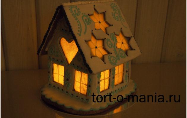 Пряничные домики со светом