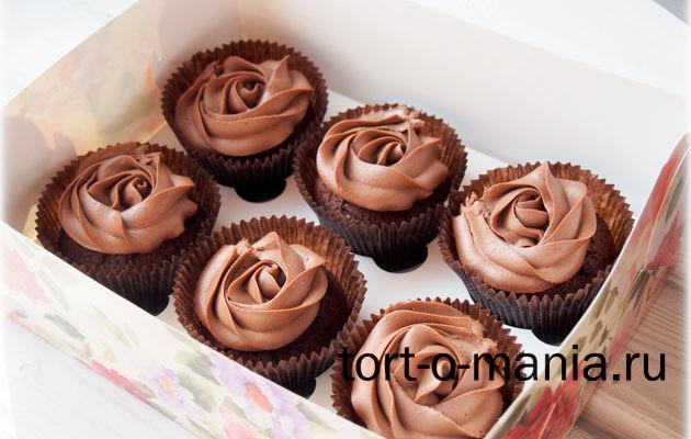 Мега-шоколадные капкейки «Брауни»