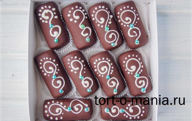 Шоколадное пирожное-картошка