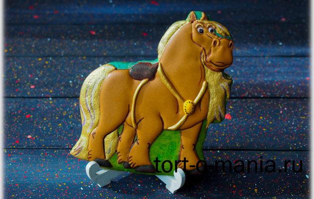 Пряник Бурушка, богатырский конь