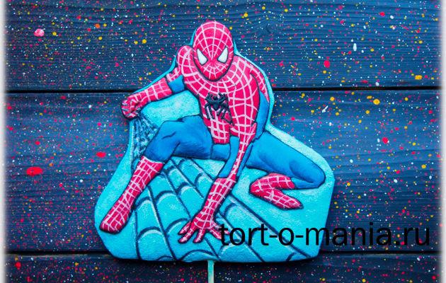 Пряник для торта Spiderman