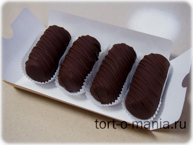 Пирожное-картошка «Темный шоколад»