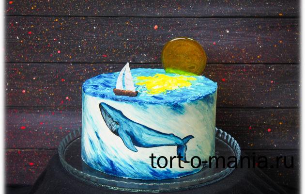 Торт «Восход над океаном»