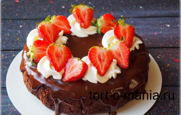 Мини-торт брауни