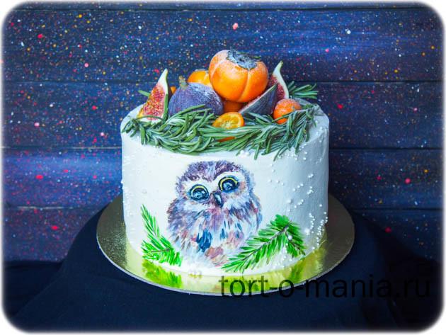 Торт «Поздняя осень»