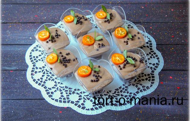 Муссовые трайфлы (муссовый десерт в стаканчике)