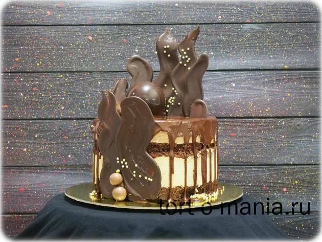 Торт «Пламя»
