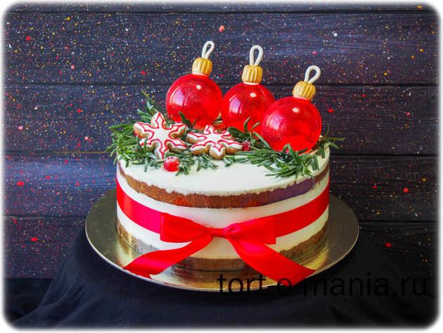Торт «Новый год!»