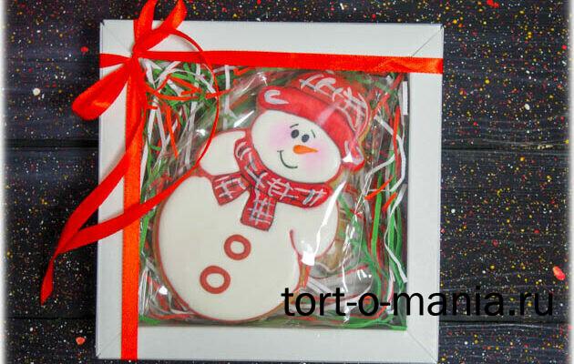 Снеговик в коробочке