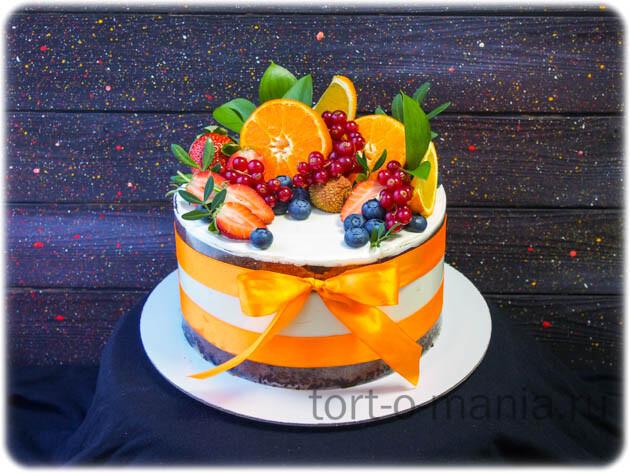 Торт «Оранжевое настроение» или «Тропики»