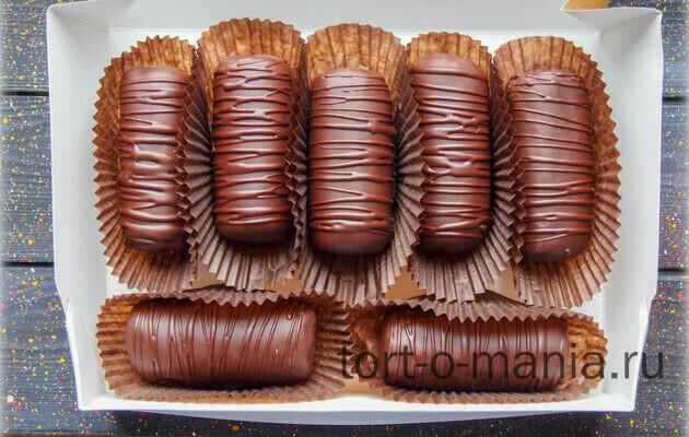 Шоколадное пирожное Картошка