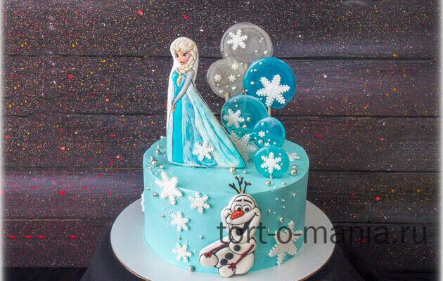 Торт «Эльза и Олоф»