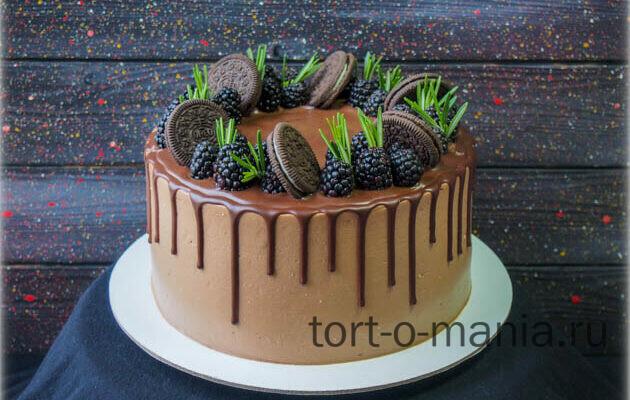 Мужской шоколадный торт