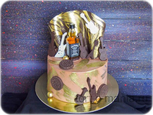 Торт rock-n-roll!