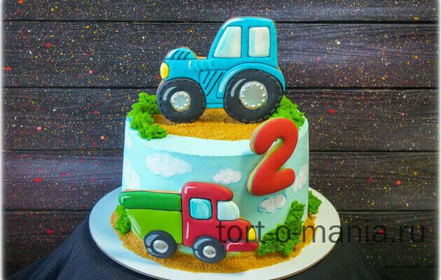 Торт «Трактор»