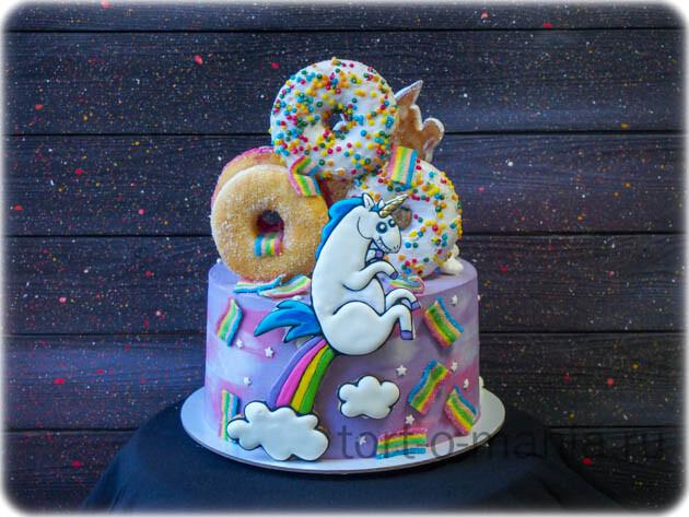 Торт Источник радуги